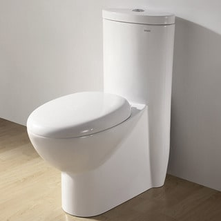 Royal CO-1008 'Alnwick' Ceramic Dual Flush Toilet