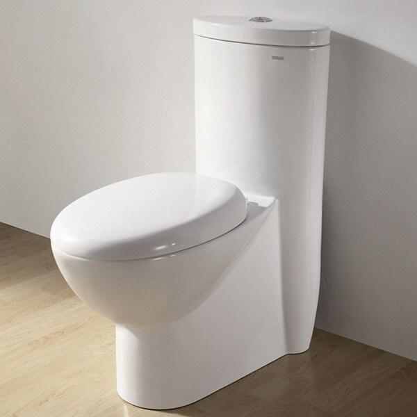 Royal CO-1008 'Alnwick' Ceramic Dual Flush Toilet
