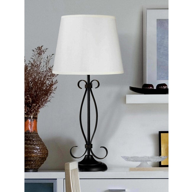 Clarksville 26-inch Oil-rubbed Bronze Table Lamp