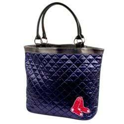 Boston Red Sox Quilted Tote Bag