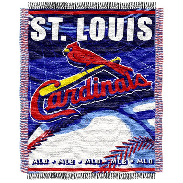 Northwest St. Louis Cardinals Woven Jacquard Acrylic Baby Blanket