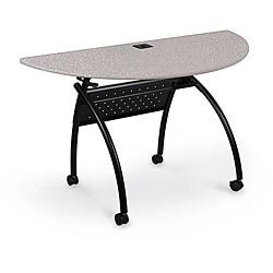 Chi Half-round Flipper Grey Nebula Table