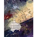 Green Leaf Art Cooper K. 'Music State 2' Canvas Art