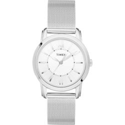 Timex Women's T2N679 Elevated Classics Dress Uptown Chic Stainless Steel Watch