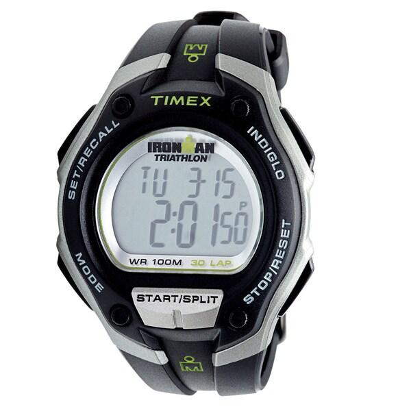 Timex Men's T5K529 Ironman Traditional 30-lap Oversize Watch