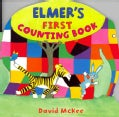 Elmer's First Counting Book (Board book)