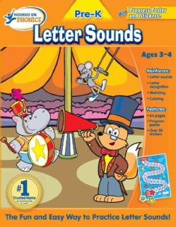 Hooked on Phonics Letter Sounds Pre-K (Paperback)