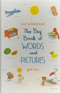 The Big Book of Words and Pictures (Board book)