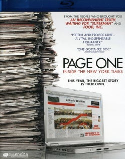 Page One: Inside The New York Times (Blu-ray Disc)