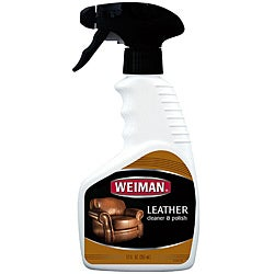 Weiman 12-oz Leather Cleaner and Polish Trigger Bottles (Pack of 2)