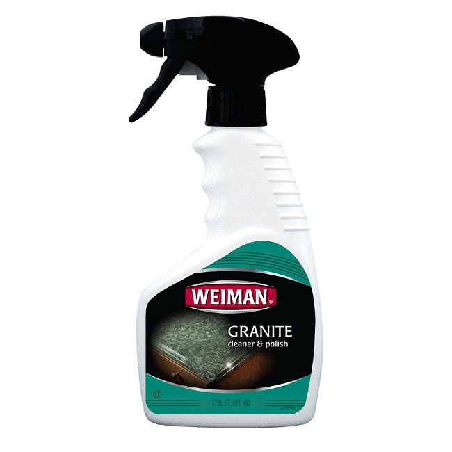 Weiman 12-oz Granite Cleaner and Polish Trigger Bottles (Pack of 2)