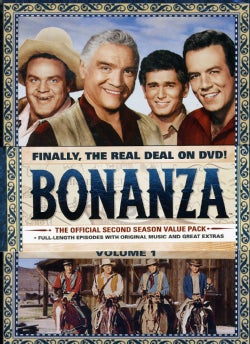 Bonanza: The Official Second Season Vol. 1 (DVD)