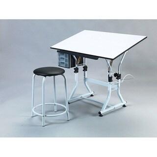 Martin Ashley Creative White Hobby Table Set