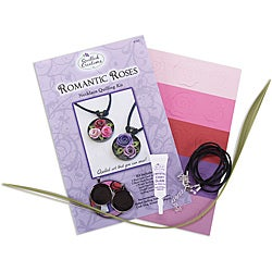 Quilled Creations Romantic Roses Necklace Quilling Kit