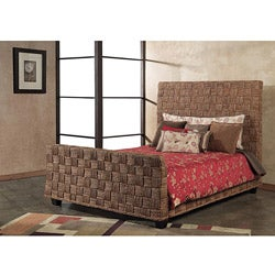 Seagrass Twist King-size Sleigh Bed