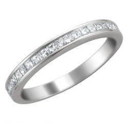 14k White Gold 2/5ct TDW Diamond Wedding Band (H-I, I1-I2)