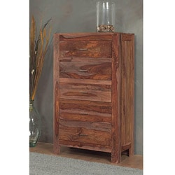5-drawer Solid Sheesham Chest