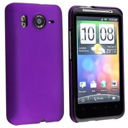 Dark Purple Rear Snap-on Case for HTC Inspire 4G/ Desire HD