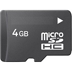 4GB MicroSD Memory Card
