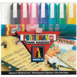 Zig Posterman Medium Tip Markers (Pack of 8)