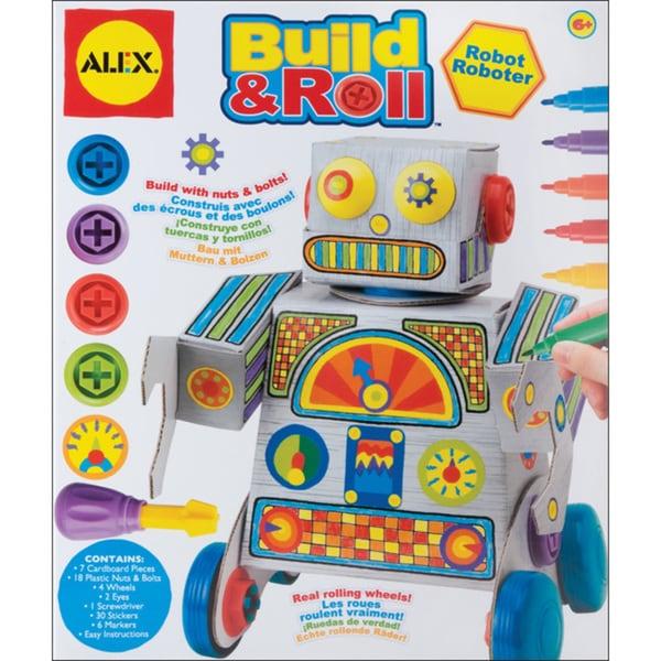 Alex Toys Build & Roll Robot Kit