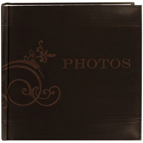 Pioneer Embroidered Scroll Leatherette Photo 8-inch Album
