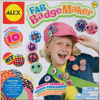 Alex Toys Fab Badge Maker Kit