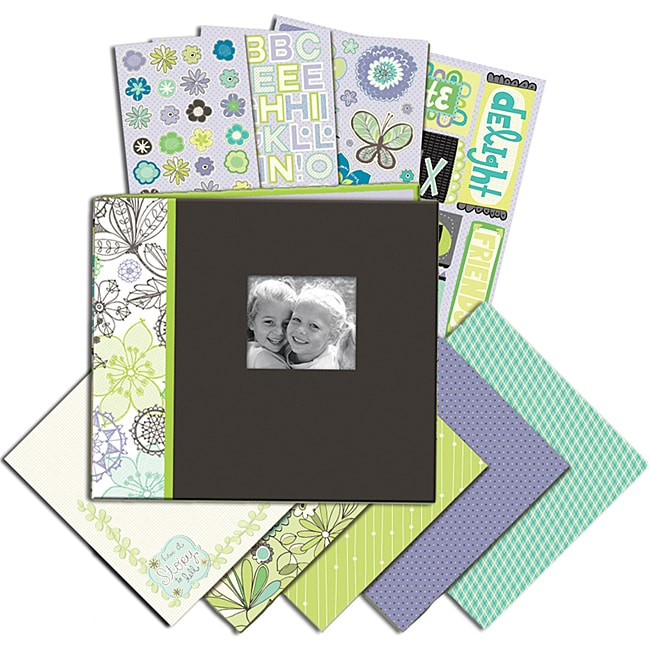 K & Company Black and White 8.5x8.5-inch Mega Scrapbook Kit at Sears.com