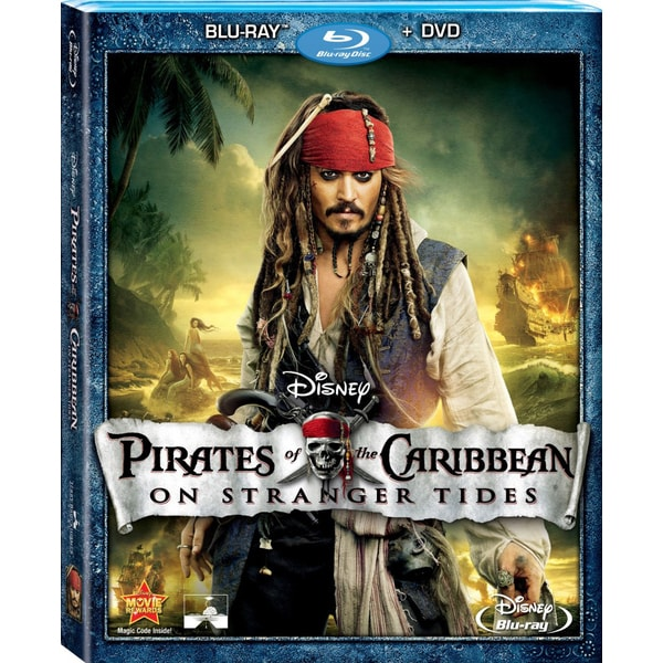 Pirates Of The Caribbean: On Stranger Tides (Blu-ray/DVD) 8245766