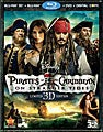 Pirates of the Caribbean: On Stranger Tides 3D (Limited Edition) (Blu-ray/DVD)