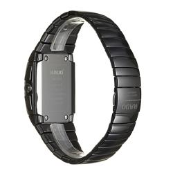 Rado Men's 'Sintra' Black Ceramic Chronograph Quartz Watch