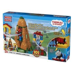 Mega Bloks Thomas Adventure on Misty Island Construction Playset