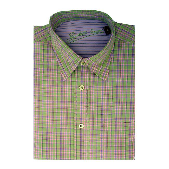 Bugatchi Uomo Men's Long-sleeve Plaid Button-front Shirt