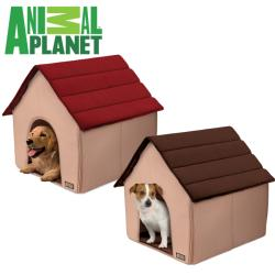 Animal Planet Fold & Go 3-piece Soft Foam Portable Pet House