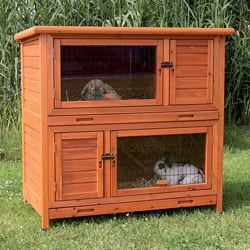 TRIXIE 2-in-1 Rabbit Hutch with Insulation