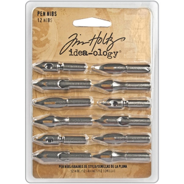 Tim Holtz Idea-Ology Pen Nibs (Pack of 12)