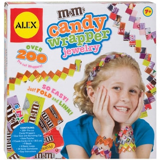 M&M's Candy Wrapper Jewelry Kit
