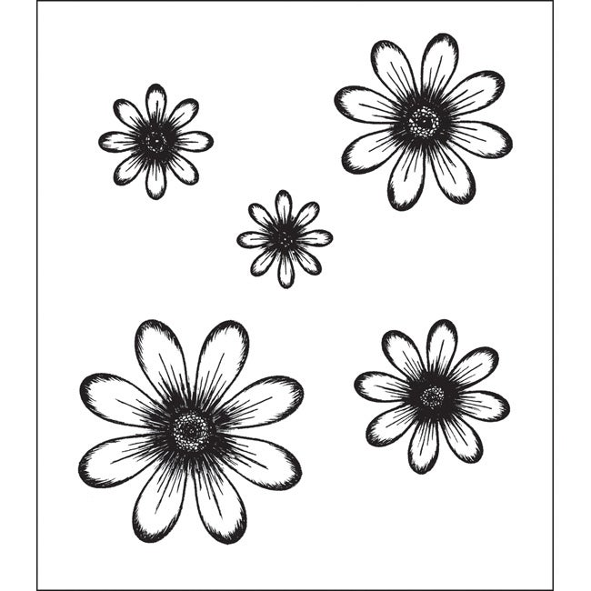 Heartfelt Creations Daisy Patch Flowers Rubber Stamps  : Heartfelt Creations Daisy Patch Flowers Rubber Stamps L13768435 from www.overstock.com size 650 x 650 jpeg 36kB