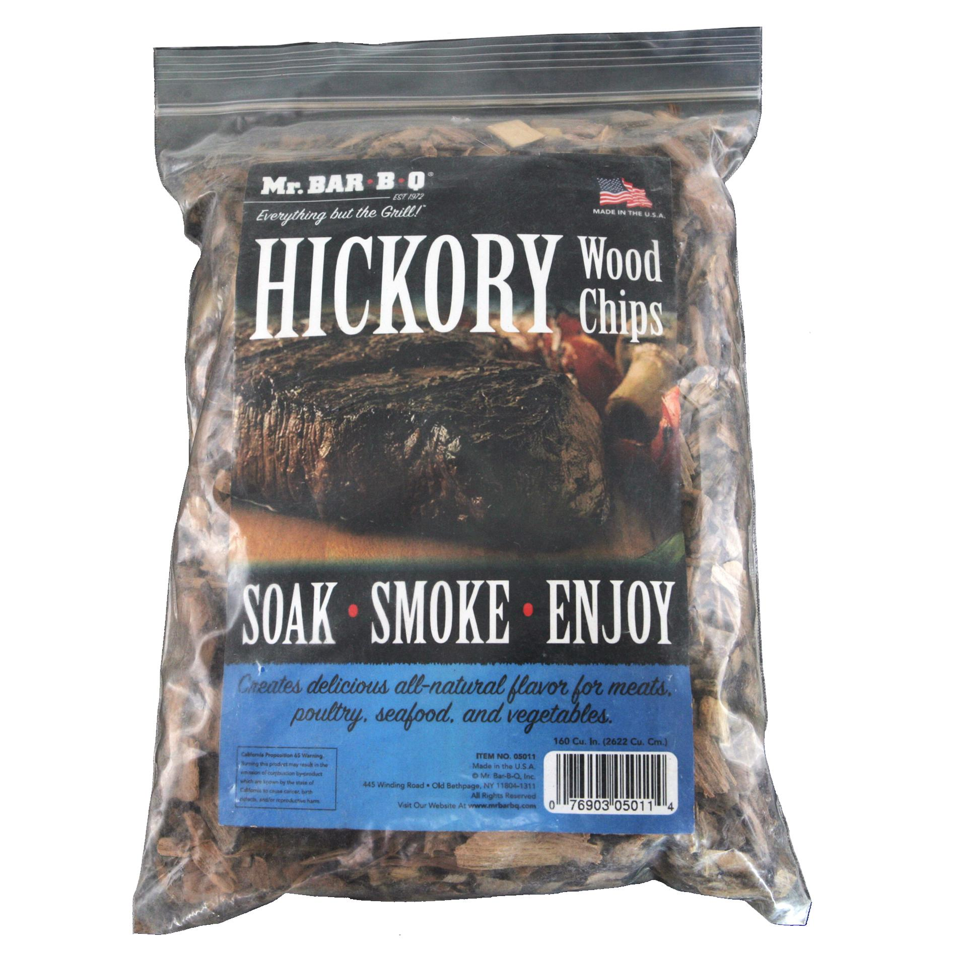 Mr. BBQ Hickory Wood Chips Bundle (Pack of 2)