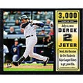 Derek Jeter 3000 Hit Commemorative Stat Plaque