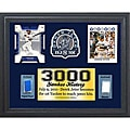 New York Yankees Derek Jeter 3000 Hits 11x14 Game Used Commemorative Frame