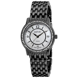 August Steiner Women's Swiss-Quartz Dazzling Diamond Bracelet Watch