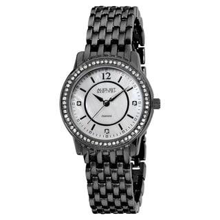 August Steiner Women's Swiss-Quartz Dazzling Diamond Bracelet Watch