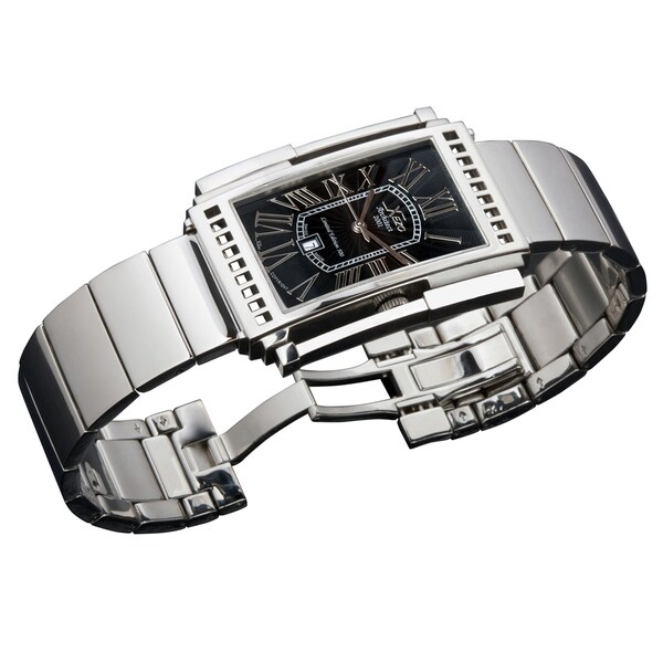 Xezo Men's Architect 2001B Stainless Steel Watch