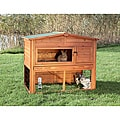 TRIXIE Rabbit Hutch with Outdoor Run