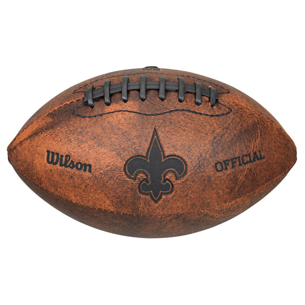 New Orleans Saints 9-inch Composite Leather Football