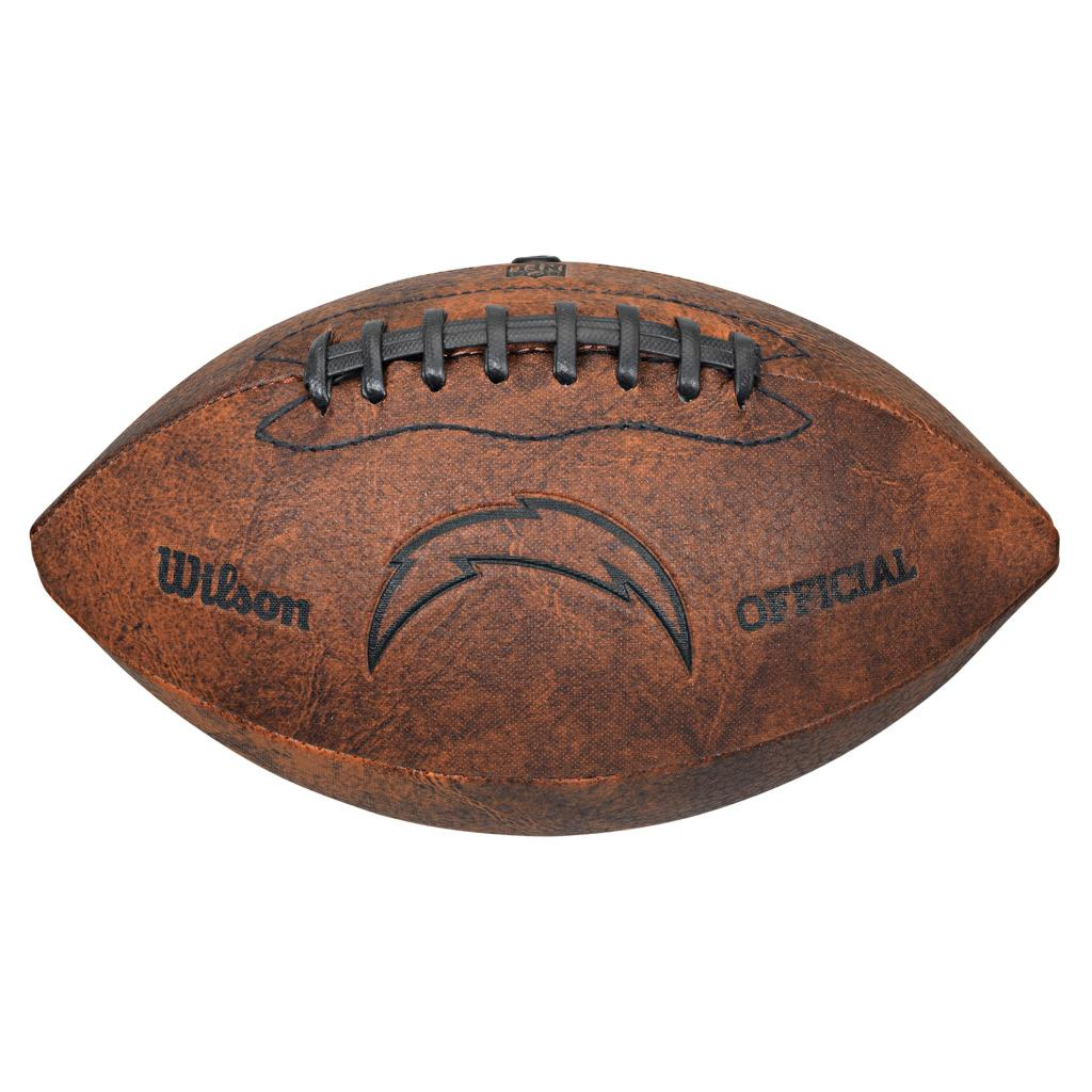 Wilson San Diego Chargers 9-inch Composite Leather Football