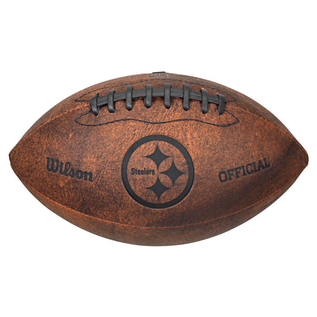 Wilson Pittsburgh Steelers 9-inch Composite Leather Football
