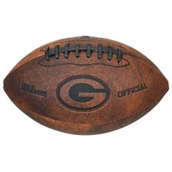 Green Bay Packers 9-inch Composite Leather Football