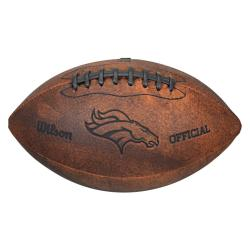 Denver Broncos 9-inch Composite Leather Football